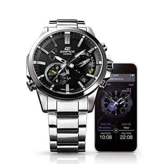 Cách dùng đồng hồ Casio Edifice Sport EQB-600D