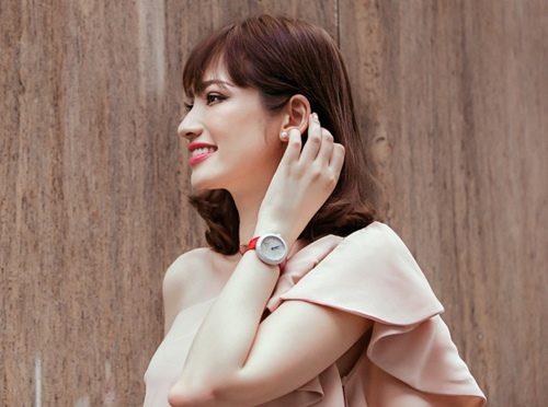 Choáng với đồng hồ kim cương tiền tỷ của giai nhân Việt