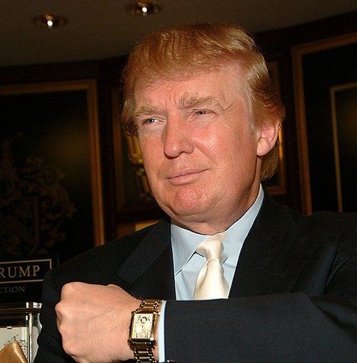 Những chiếc đồng hồ đắt đỏ của tân tổng thống Mỹ Donald Trump