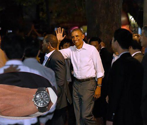Thật bất ngờ về đồng hồ của ông Obama