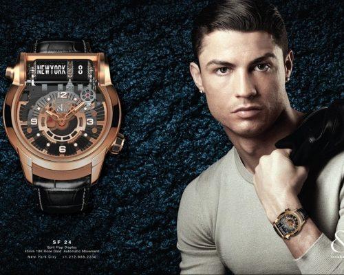 Sốc với bộ sưu tập đồng hồ đeo tay của CR7 – Ronaldo