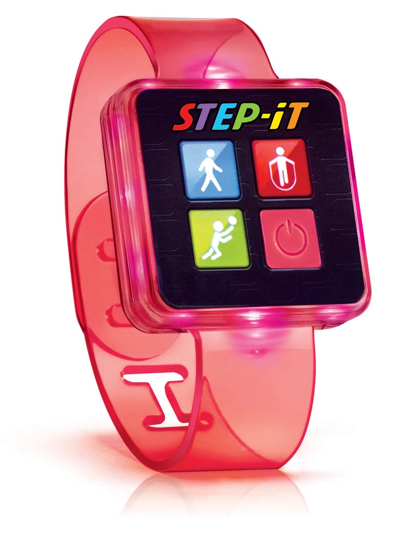 2016 Step-It Happy Meal Wristband toy image (image on transparency)