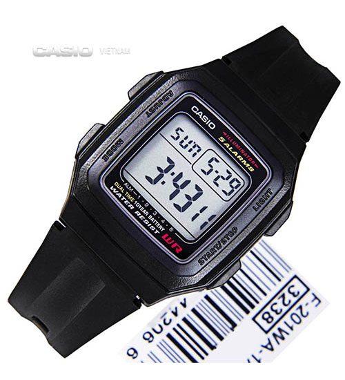 Địa chỉ bảo hành đồng hồ Casio F201 chính hãng?