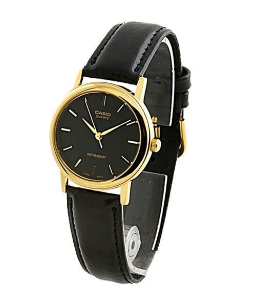 Đồng hồ nam cao cấp chính hãng Casio Gold Black món quà ý nghĩa ngày 14/2