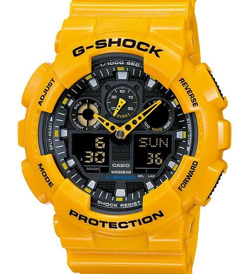 Cách chỉnh giờ đồng hồ G Shock GA-100A-9A dễ như ăn kẹo