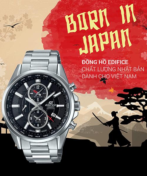 Những yếu tố tạo nên đẳng cấp đồng hồ Casio Nhật Bản