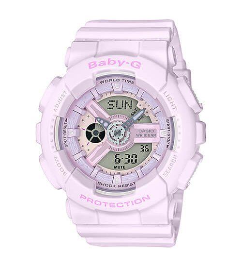 Khám phá bộ sưu tập đồng hồ Baby-G Pink dễ thương cho bé gái
