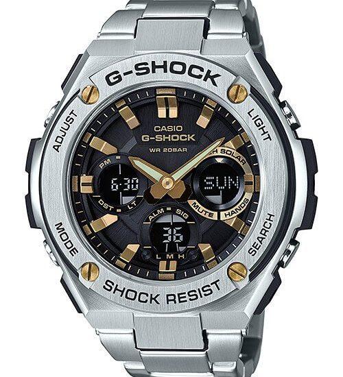 Khám phá đồng hồ G Shock GST-W310D-1A9JF dây kim loại