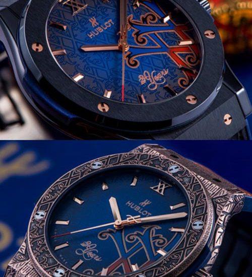 Ba mẫu đồng hồ Hublot phiên bản giới hạn trị giá nửa tỷ có mặt tại Việt Nam