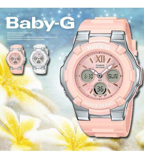 Đồng hồ Casio Baby-G BGA-110BL-4B sắc hồng nữ tính trong thiết kế thể thao