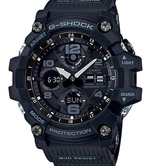 Giới thiệu đồng hồ G Shock GA-1100-1A1 Phiên bản dây đặc biệt 2 màu