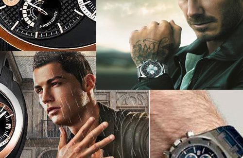 Siêu sao bóng đá và những chiếc đồng hồ
