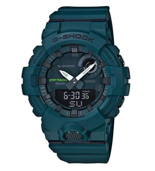 Đồng hồ G-ShockGBA-800-3A sắc xanh độc đáo lạ mắt