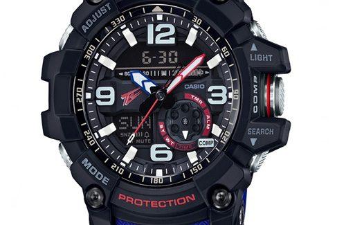 Đồng hồ Casio G Shock GG-1000TLC-1A dây đeo màu màu xanh cá tính mạnh mẽ