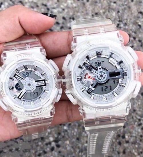 G-Shock GA-110CR-7A sắc trắng trong suốt sức hút mạnh mẽ