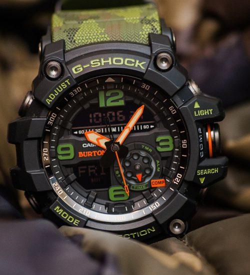Đồng hồ Casio G Shock GG-1000BTN-1A sắc màu ngụy trang độc đáo