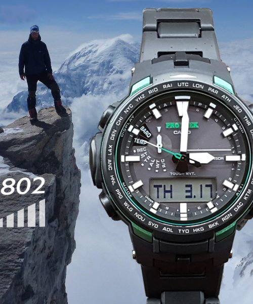 Chức năng Altimeter đo độ cao trên đồng hồ đeo tay