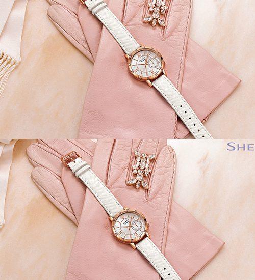 Đồng hồ nữ Casio dây da mẫu mới cho bạn nữ chọn lựa