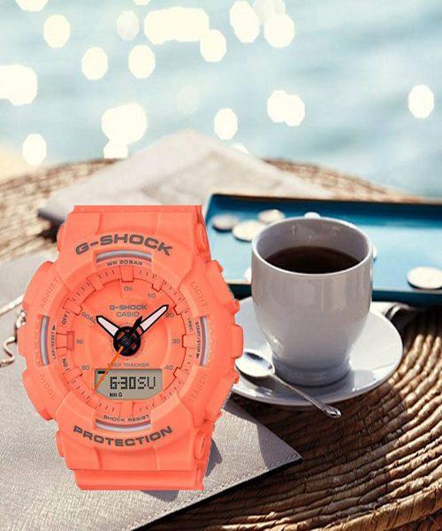 Đồng hồ Casio G-Shock GMA-S130VC-4A sắc cam năng động trẻ trung cho chàng trai