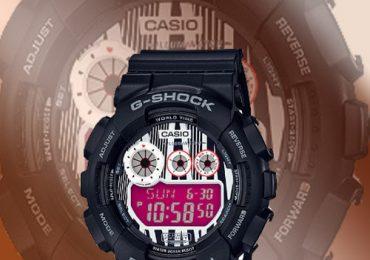 Đồng hồ Casio G-Shock GD-120LM-1A mẫu mới kiểu dáng độc đáo