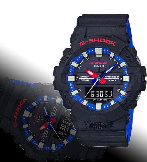 Đồng hồ Casio G-Shock GA-800LT-1A bộ sưu tập mới dành cho phái mạnh