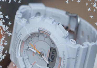Đồng hồ Casio G ShockGMA-S130VC-8A màu xám cá tính riêng biệt