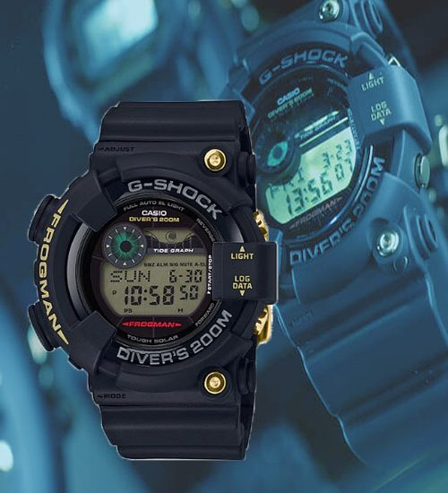 Đồng hồ G-SHOCK GF-8235D-1B vẻ đẹp ấn tượng mạnh mẽ