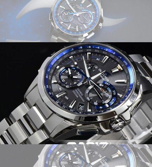 Đồng hồ Casio Oceanus và cách sử dụng đồng hồ