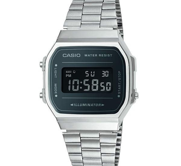 Ngỡ ngàng với vẻ đẹp của đồng hồ cổ điển Casio A168WEM-1