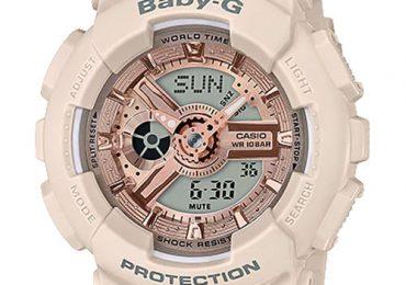 Đồng hồ Casio Baby-G BA-110CP-4A màu hồng siêu dễ thương