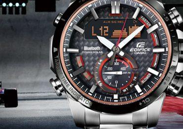Đồng hồ Casio Edifice ECB-800 dây kim loại đậm chất thể thao