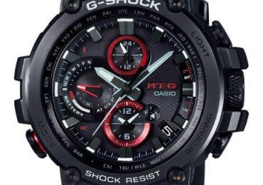 Sốc với đồng hồ G Shock MTG-B1000 pin năng lượng mặt trời