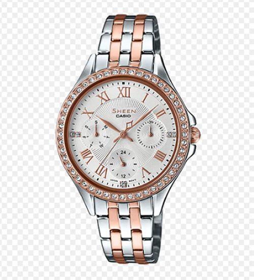 Khám phá mẫu đồng hồ Casio Nữ Sheen SHE-3062SPG-7A