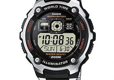 Hướng dẫn cách sử dụng và chỉnh giờ đồng hồ AE-2000W