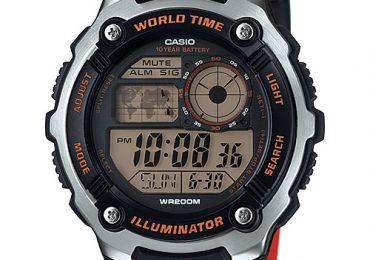 Hướng dẫn sử dụng và Cách chỉnh giờ đồng hồAE-2100W