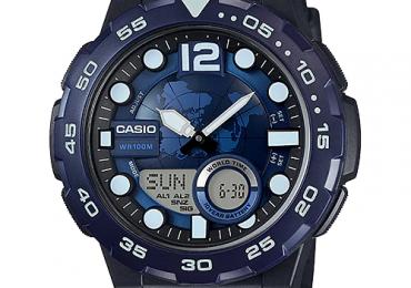 Huớng dẫn sử dụng và cách chỉnh giờ đồng hồ Casio AEQ-100