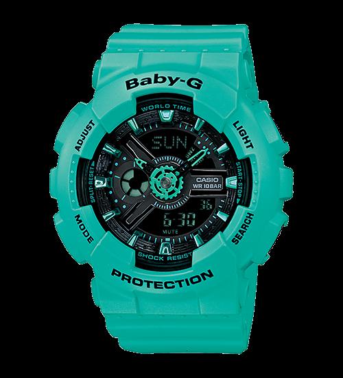 Hướng dẫn sử dụng đồng hồ casio Baby-G BA-111 thể thao cá tính