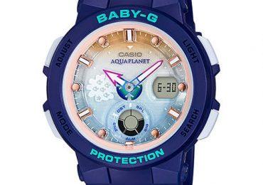 Đồng Hồ Nữ Casio Baby G BGA-250AP-2A nguồn cảm hứng từ biển
