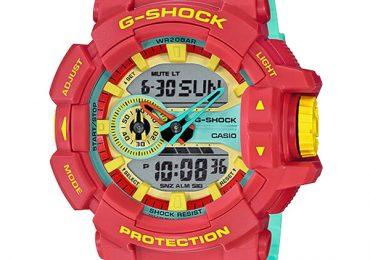 Khám phá đồng hồ Casio G-Shock GA-400CM-4A màu sắc