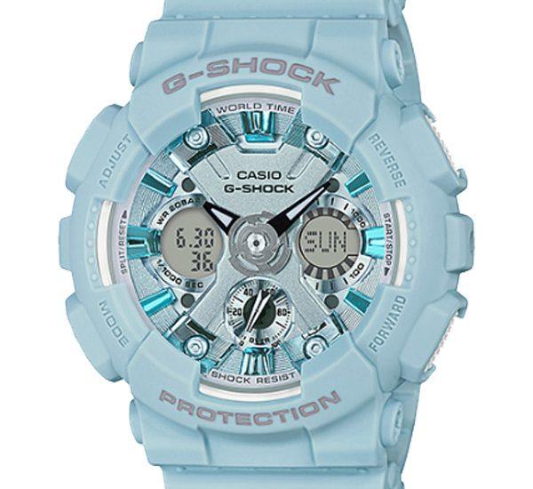 Sốc với dòng đồng hồ casio G-Shock GMA-S120DP-2A đầy màu sắc