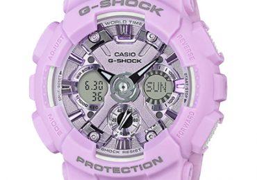 Mẫu đồng hồ Casio G-Shock GMA-S120DP-6A màu tím cá tính