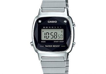 Khám phá vẻ đẹp tinh tế của đồng hồ Casio nữ LA670WAD-1VDF đính kim cương
