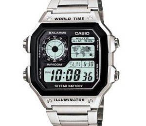 Top4 mẫu đồng hồ nammặt vuông dây kim loại hot nhất 2018