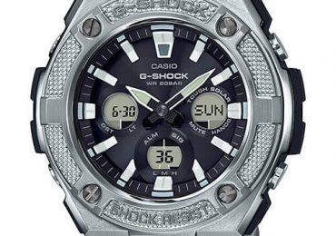 Đồng hồ G-Shock GST-S330D-1A chạy bằng năng lượng mặt trời