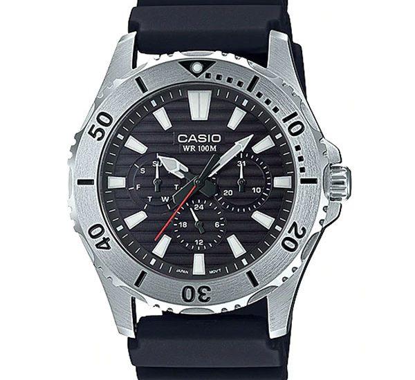 Đồng hồ Casio MTD-1086-1AV Phong cách thể thao 2018