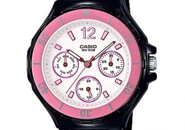 Sốc với vẻ đẹp của đồng hồ casio LRW-250H-1A3V dành cho phái đẹp