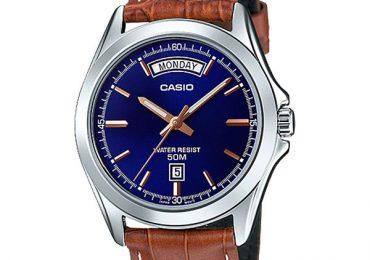 Đồng hồ Casio MTP-1370L-2AV phiên bản màu xanh ấn tượng