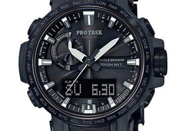 [ProTrek 2018] PRW-60 – Dây đeo composite và nền quay số nhanh ấn tượng