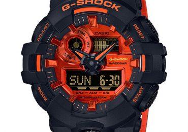 Khám phá phiên bản sắc màu của dòng G Shock GA-700BR-1A