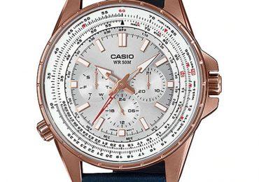 Ngắm thiết kế đặc biệt của đồng hồ Casio MTP-SW320RL-7A